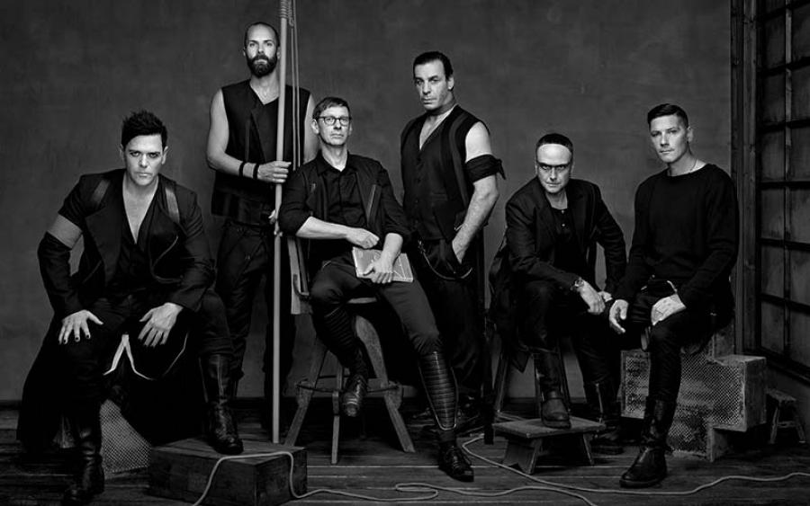 Rammstein bestormt de albumcharts